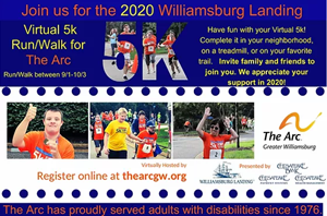 Picture of 11th Annual Williamsburg Landing Virtual 5k for The Arc